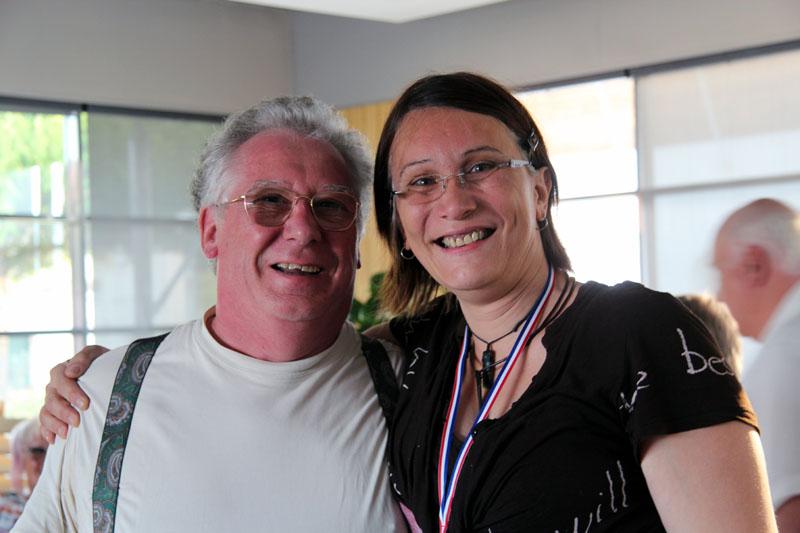 Christelle BERTHON avec Gégé
